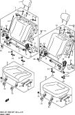 159 - REAR SEAT (N/ARMREST)
