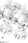 160 - REAR SEAT (W/ARMREST)