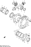 57 - FRONT DIFF GEAR (MT:2WD)