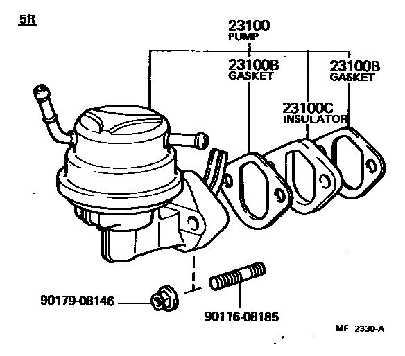Previa Fuel Pump
