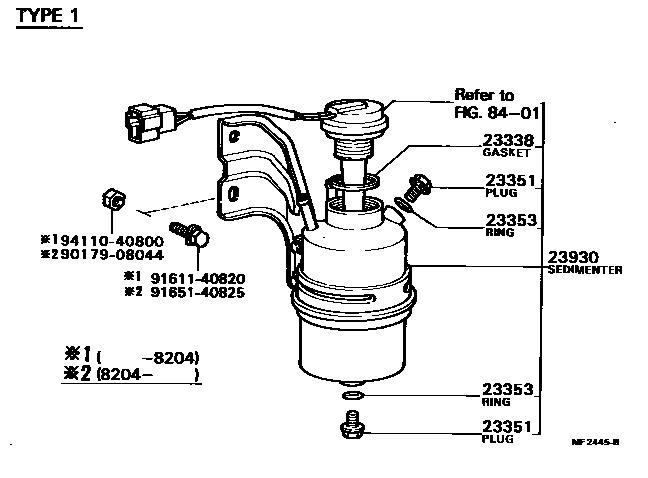 Middle East Dyna 752220 Bu20r Mrlt 23 02 Fuel Filter