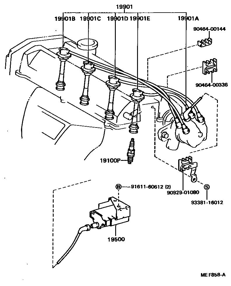 Spark Plug Ignition Coil