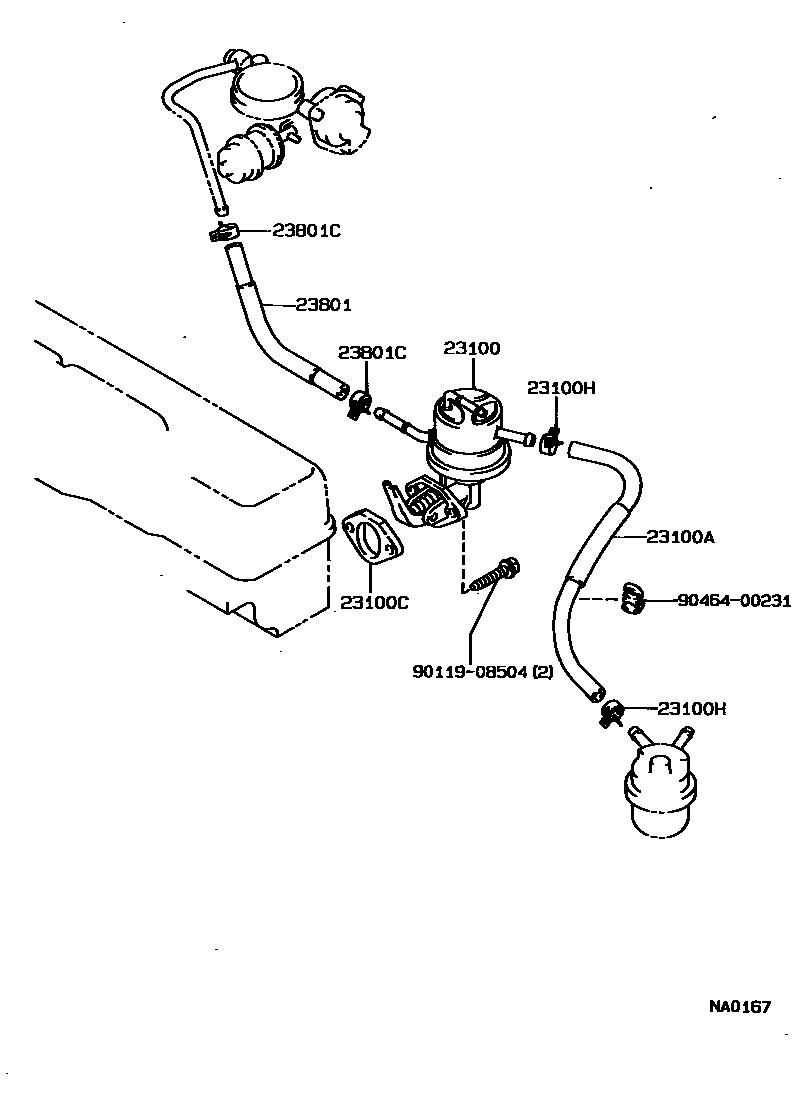 1985 toyota celica fuel pump wiring diagram usa, corolla jpp 151420, ae92l-aemnua, 23-01 fuel pump ... 1994 toyota pickup fuel pump wiring diagram