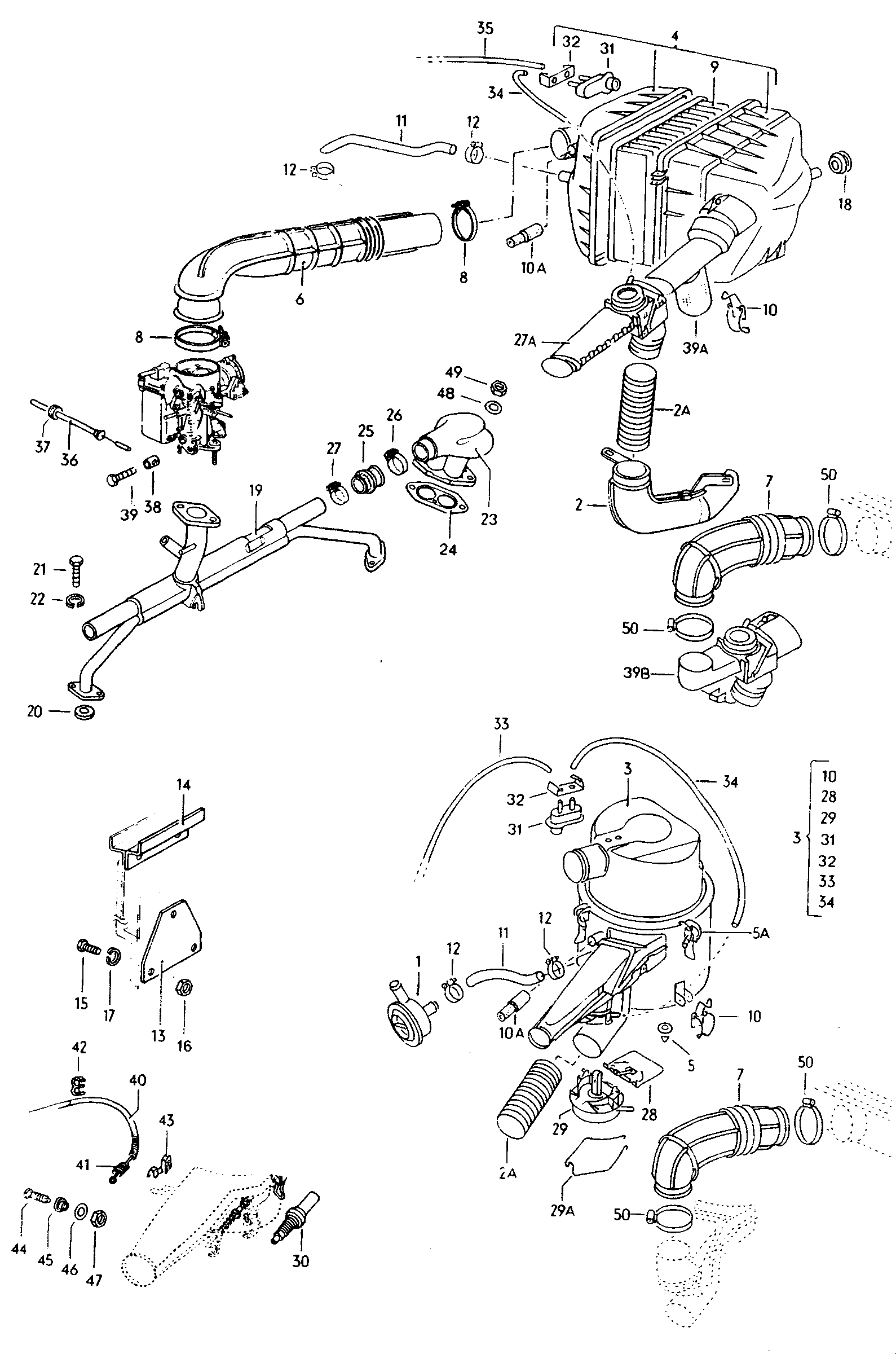 VW, Type 2 USA, 1969, Engine, 15 - Catcar info