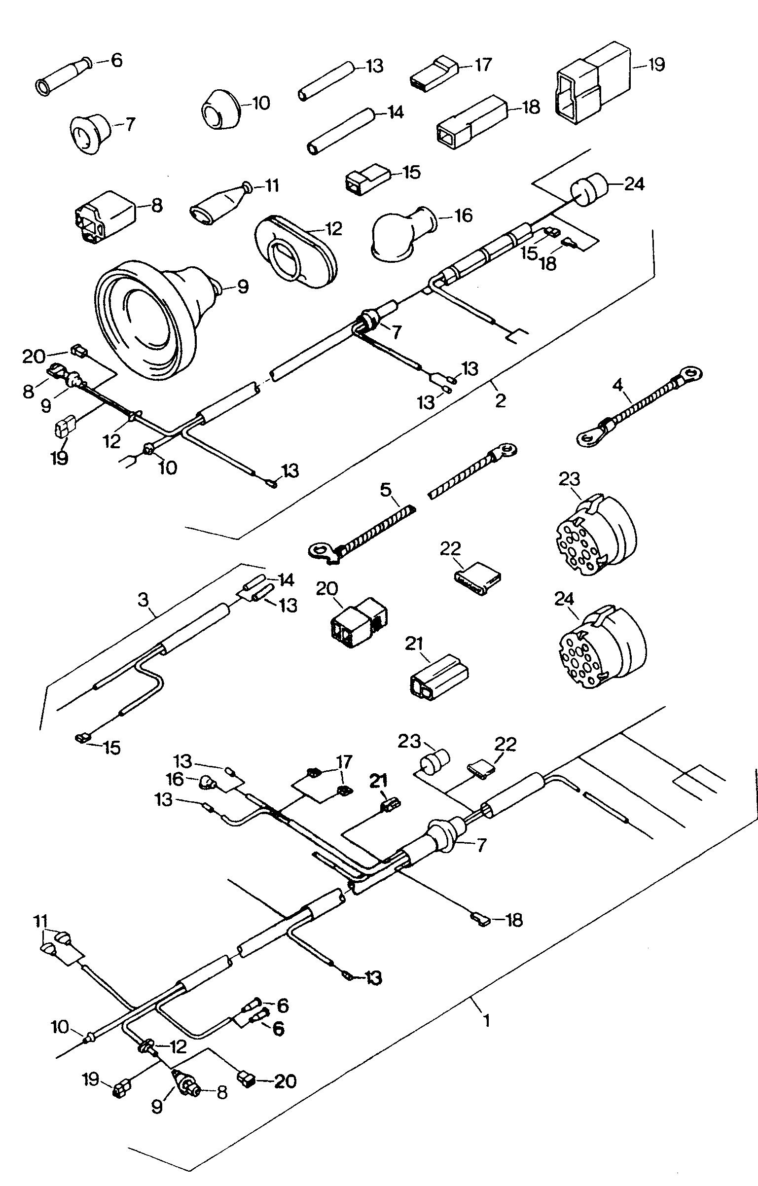 VW, Mod.181 / Iltis Europe, 1979 (Iltis), Electrics, 97 - Catcar.infoCATCAR.INFO