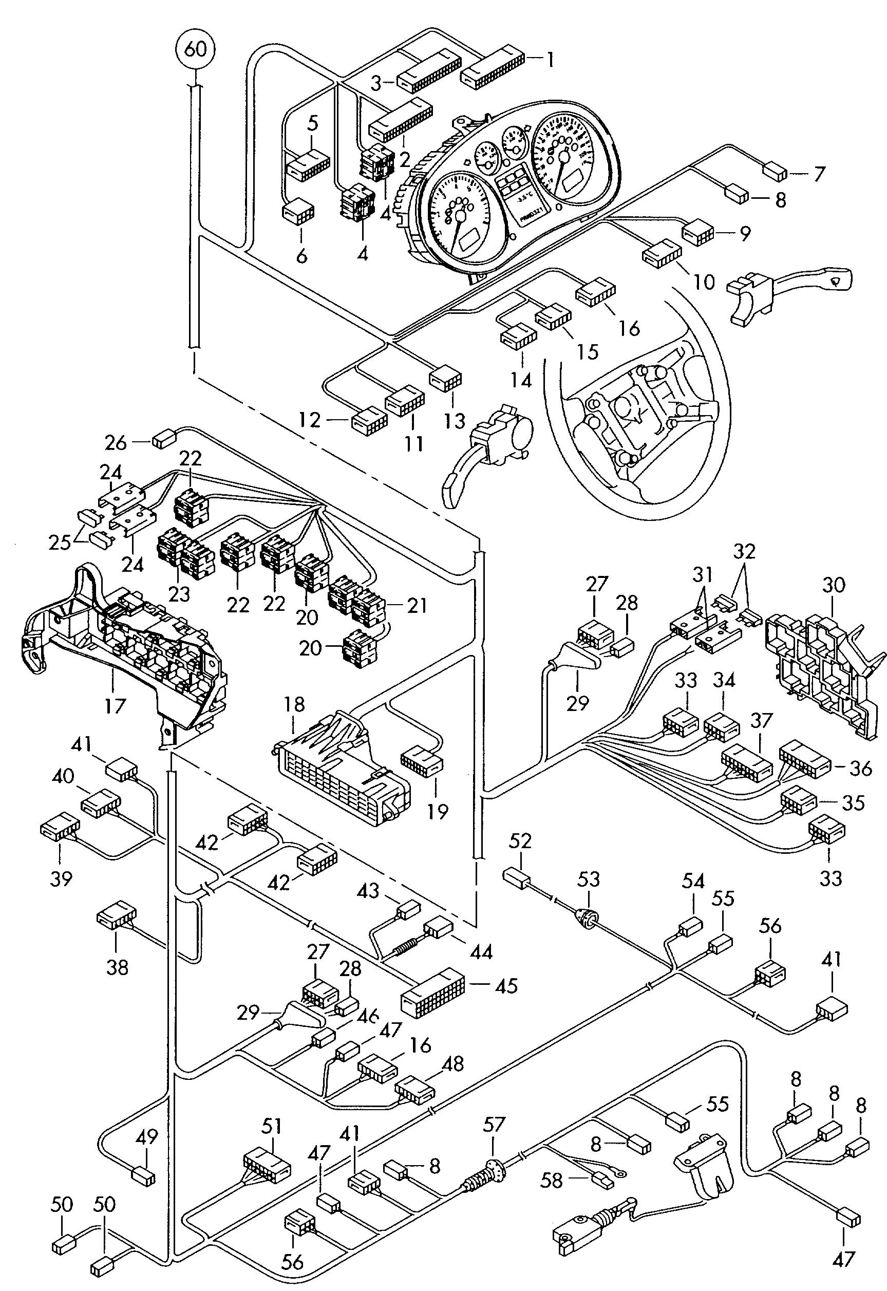AUDI, Audi A2 Europe, 2005, Electrics, 97184 - Catcar.infoCATCAR.INFO