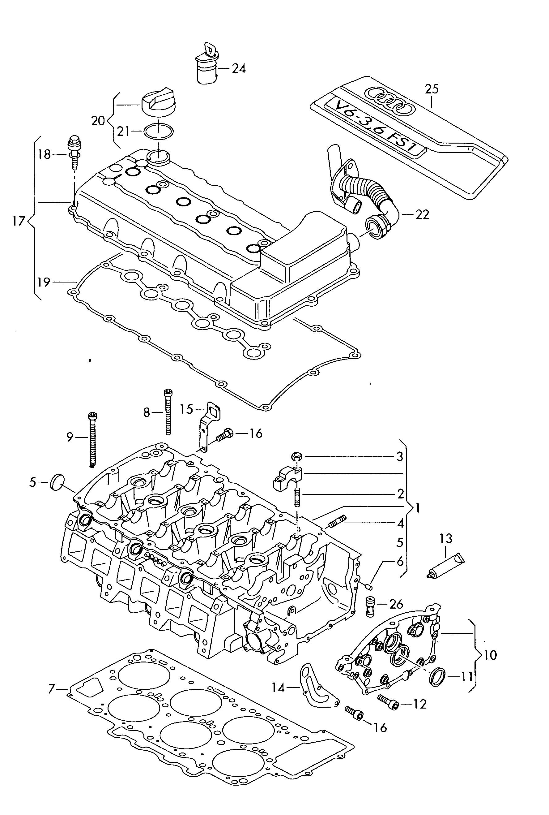 AUDI, Audi Q7 USA, 2007, Engine, 10325 - Catcar.infoCATCAR.INFO