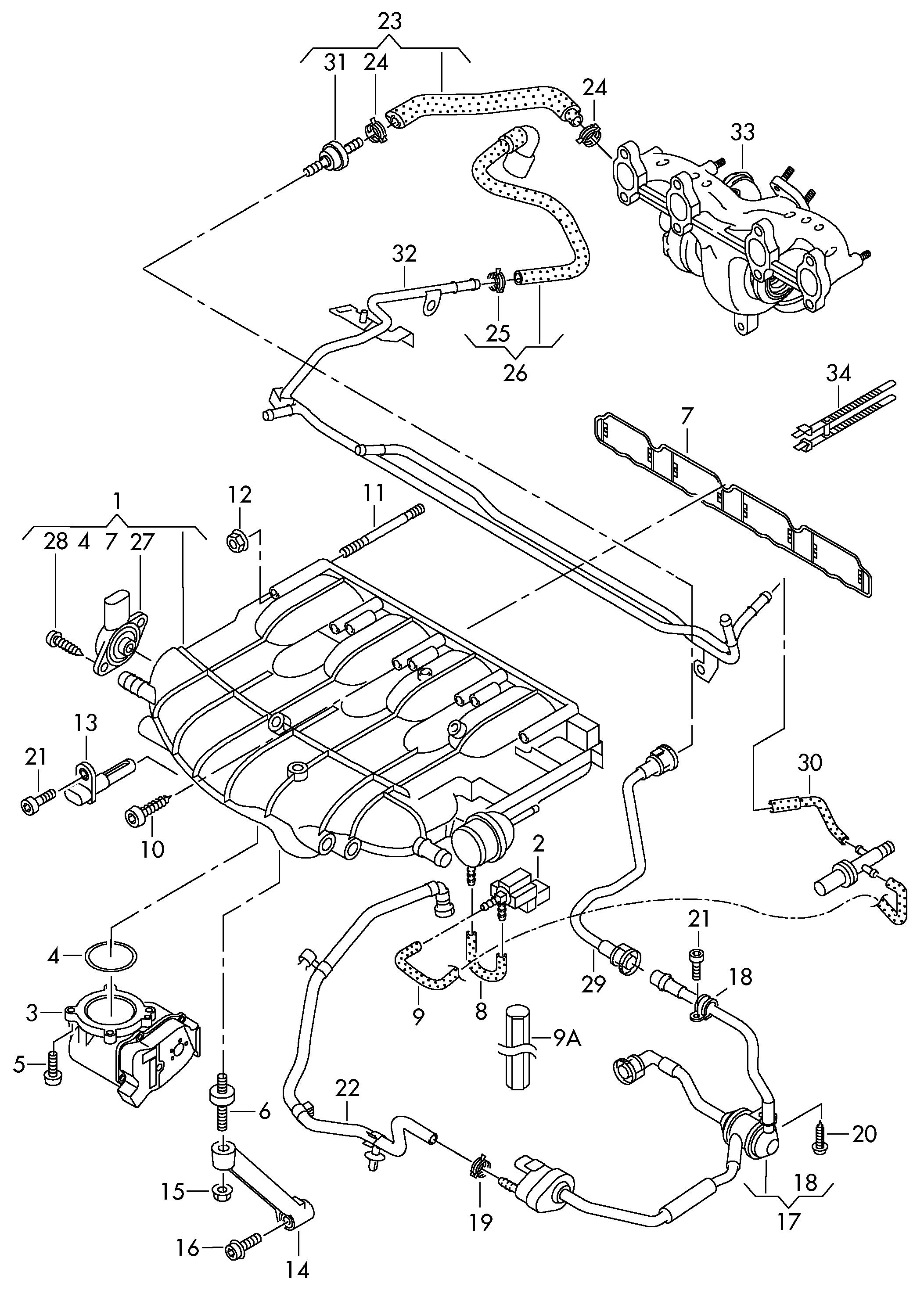 VW, Golf/R32/GTI/Rabbit USA, 2013, Engine, 13330 - Catcar.infoCATCAR.INFO