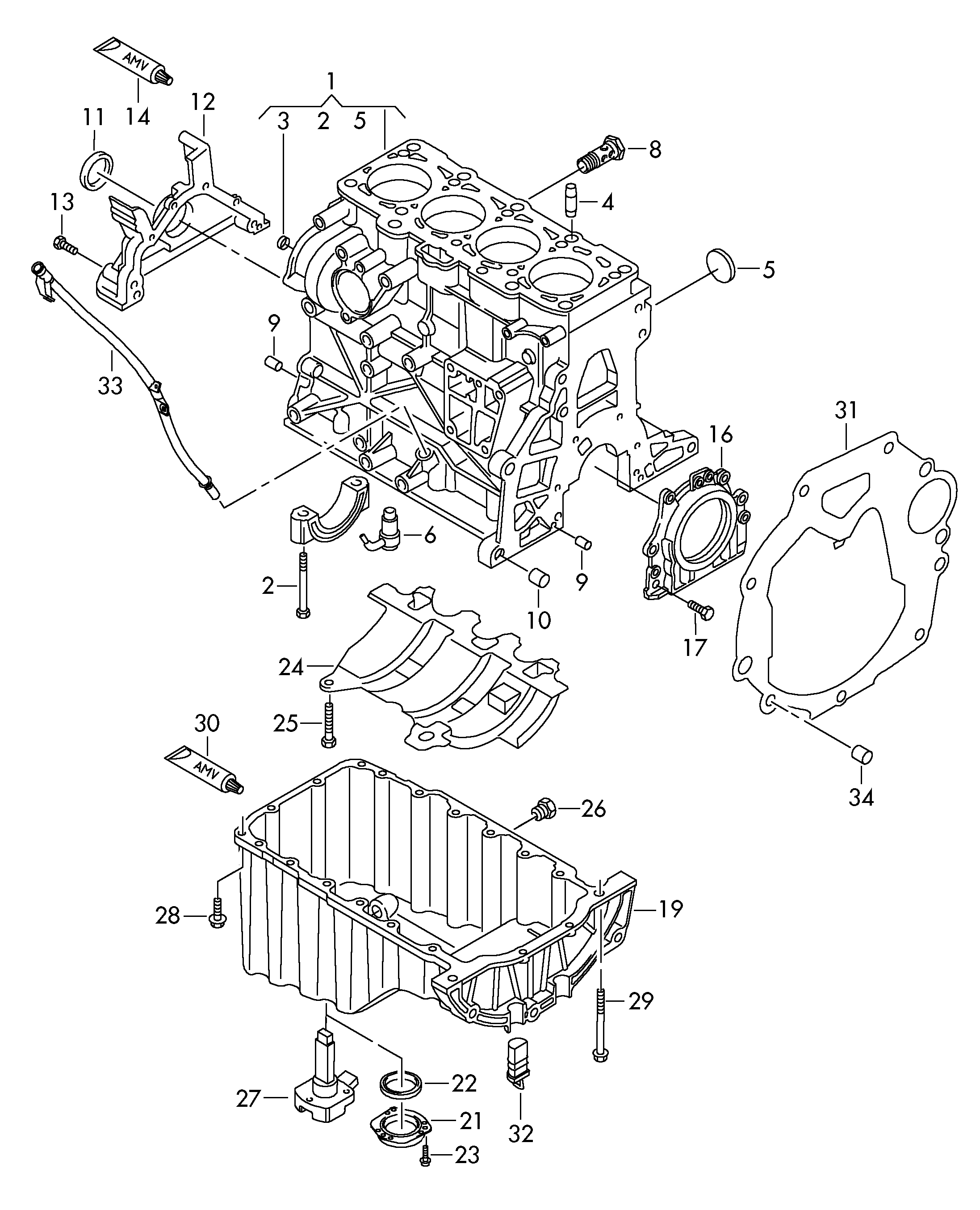 Vw  Amarok Europe  2016  Engine  10320