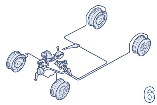 Wheels, brakes