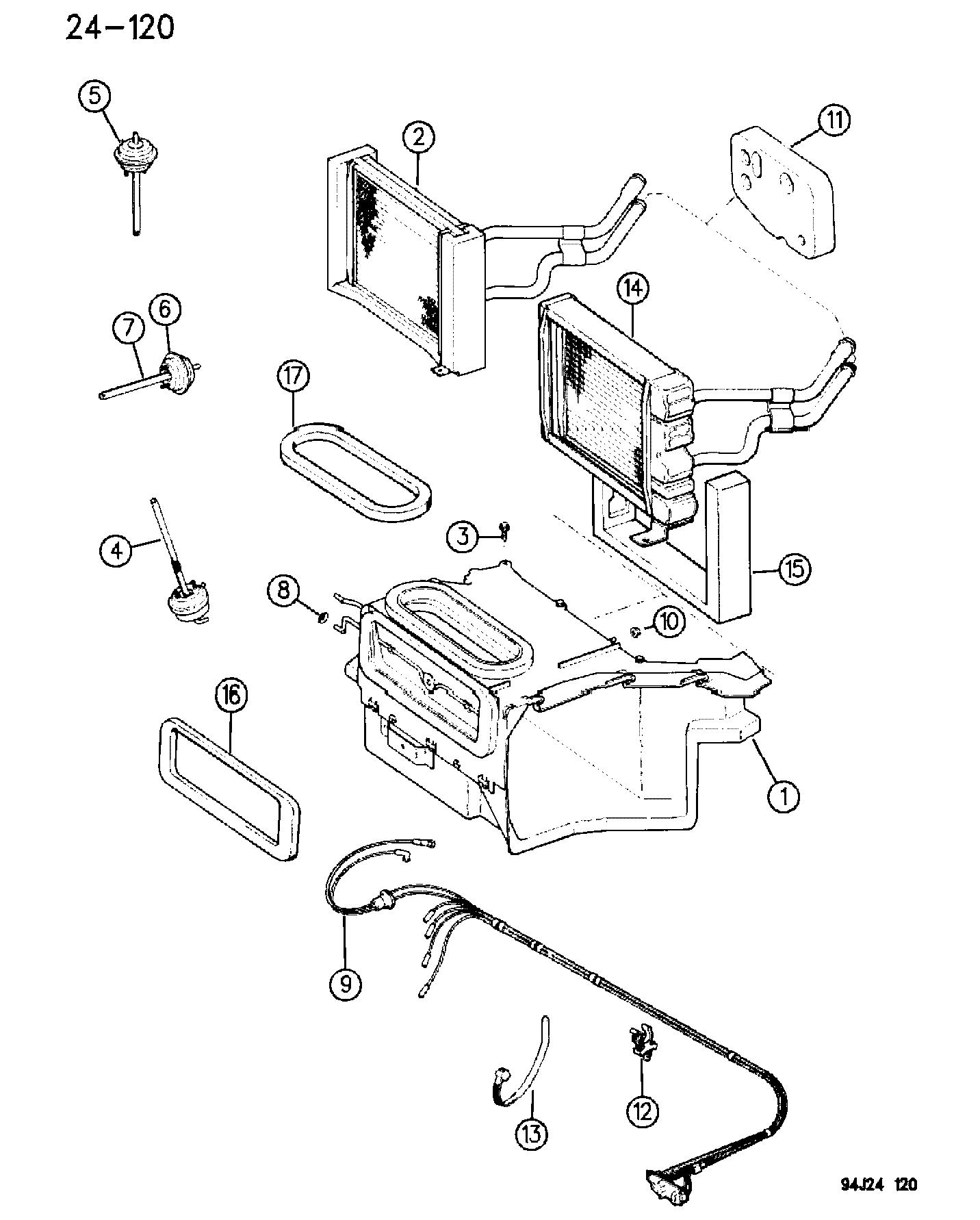 cj5 heater diagram wiring diagram