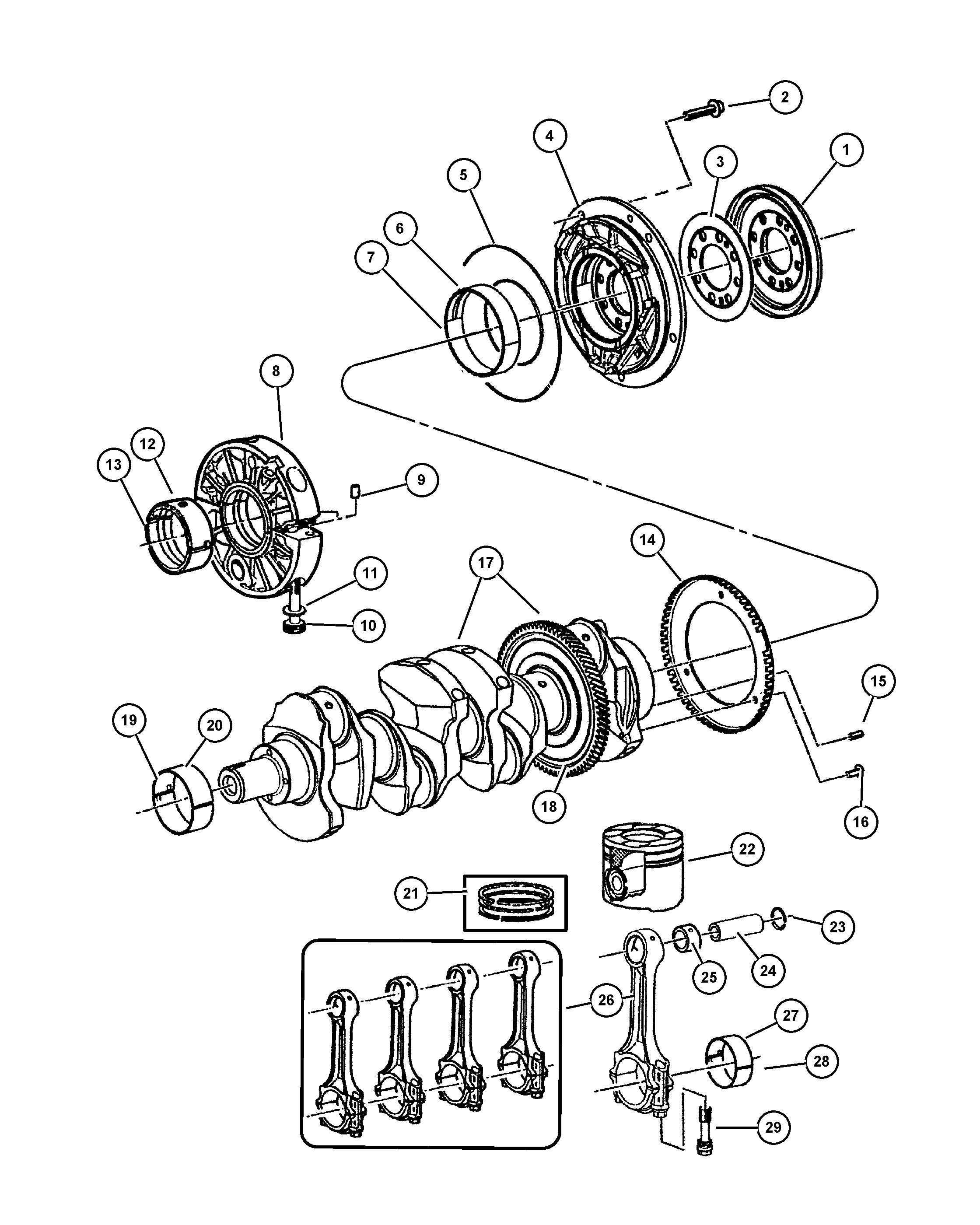 th350 parts diagram online wiring diagram Powerglide Transmission Parts Diagram 300m turbo wiring diagram databasechrysler 2004 kj jeep liberty 28l engine 2 8l four cylinder 300m