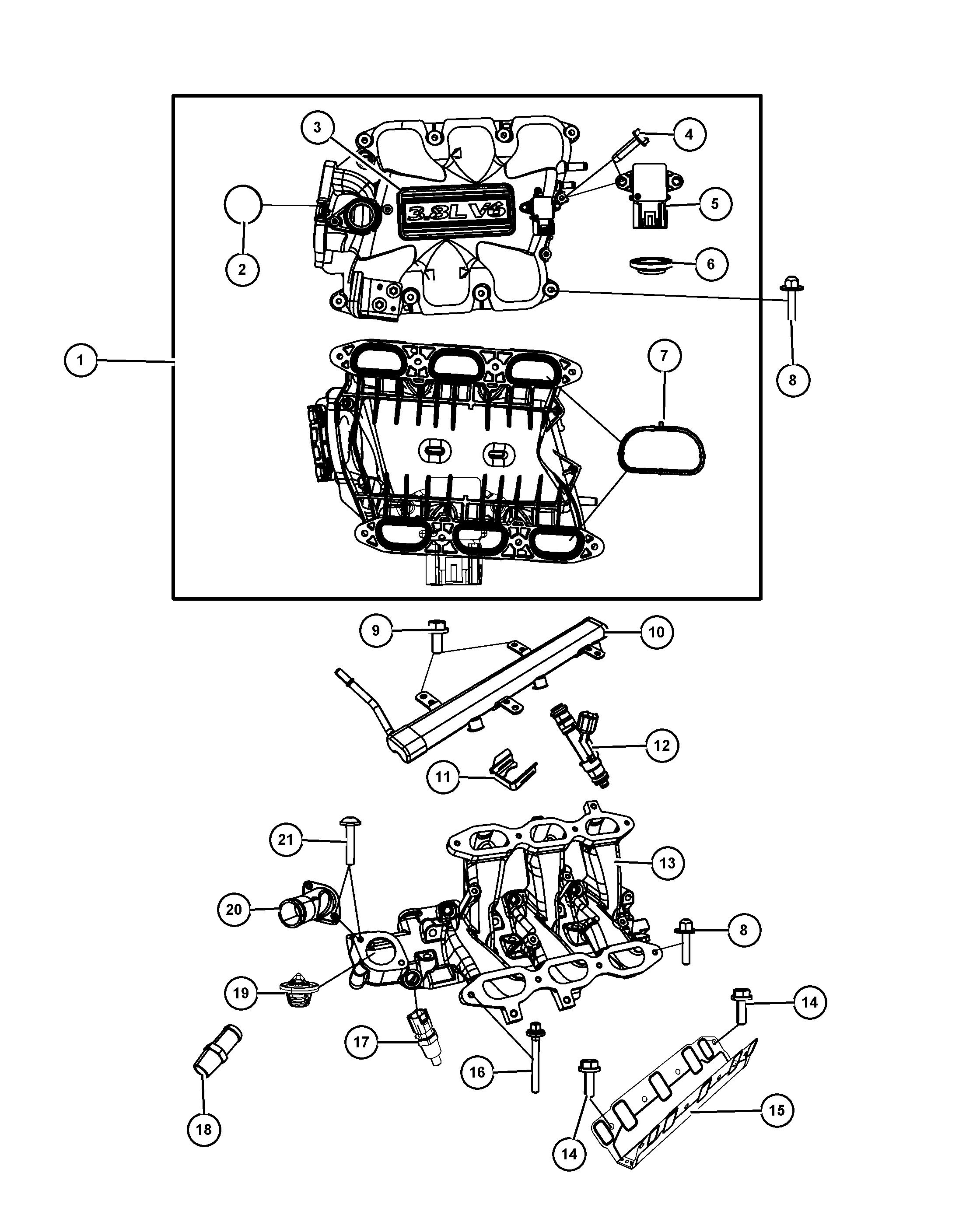 Chrysler 3 3 Engine Diagram