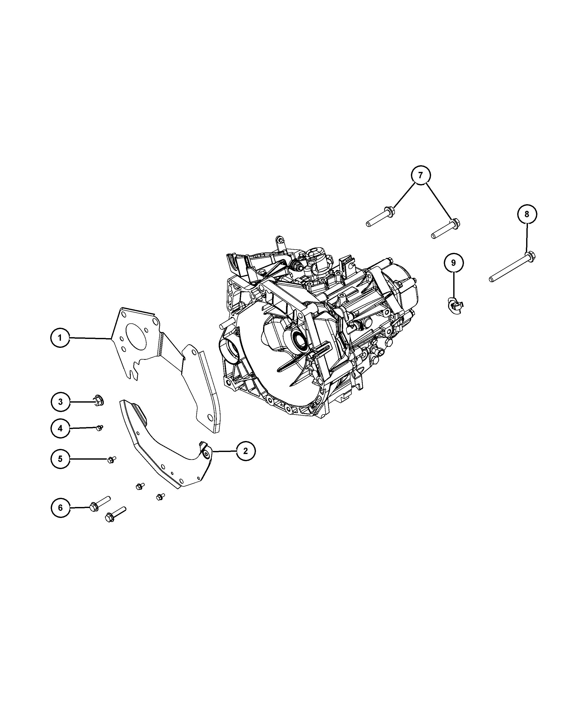 Chrysler 2017 Ff Fiat 500 21dde C510 5 Speed Manual Transaxle 126 Alternator Wiring Diagram