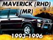 Maverick MR (RHD) 1993-1996