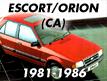 Escort CA 1981-1986