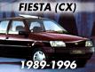 Fiesta CX 1989-1996