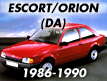 Escort DA 1986-1990