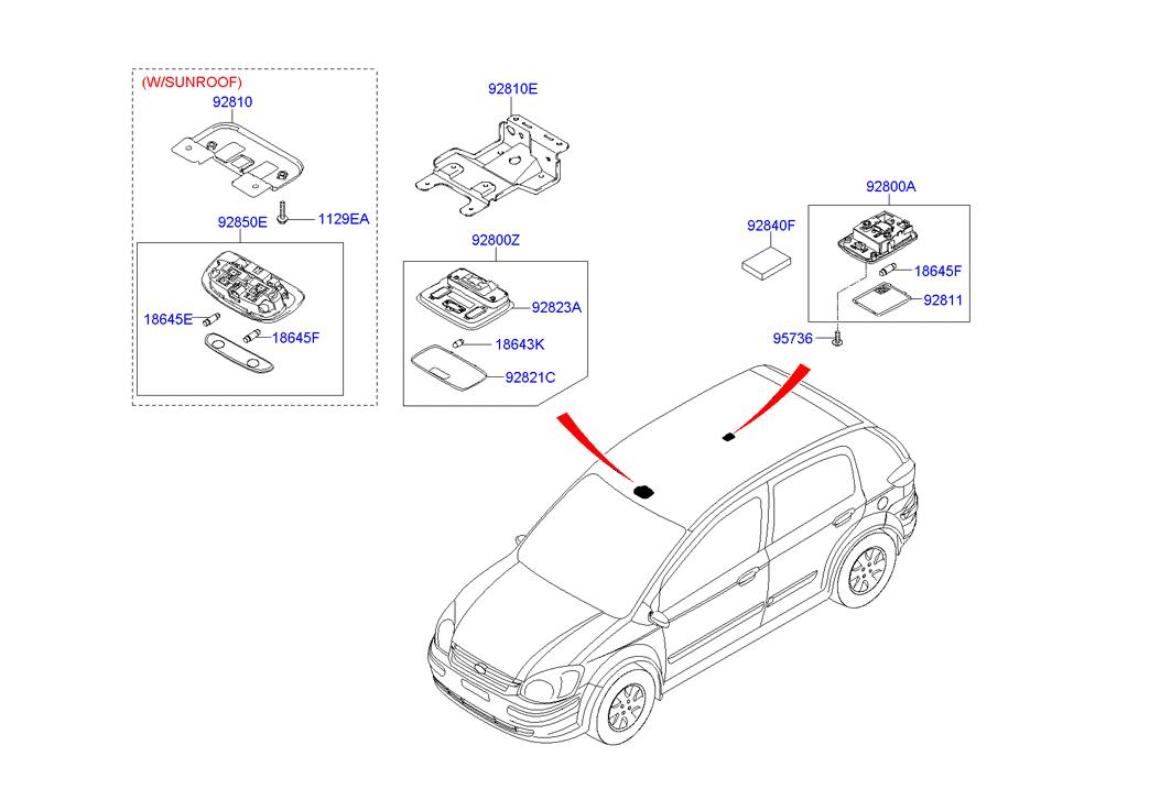 Hyundai Getz Fuse Box Layout
