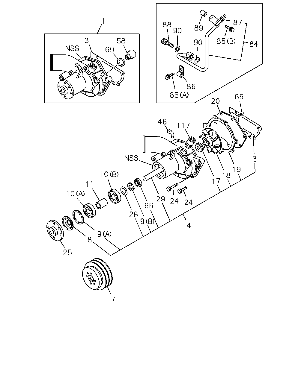 Mr 10663 91 95 0 Engine Emission Electrical 6bb1 Isuzu Diagram Code