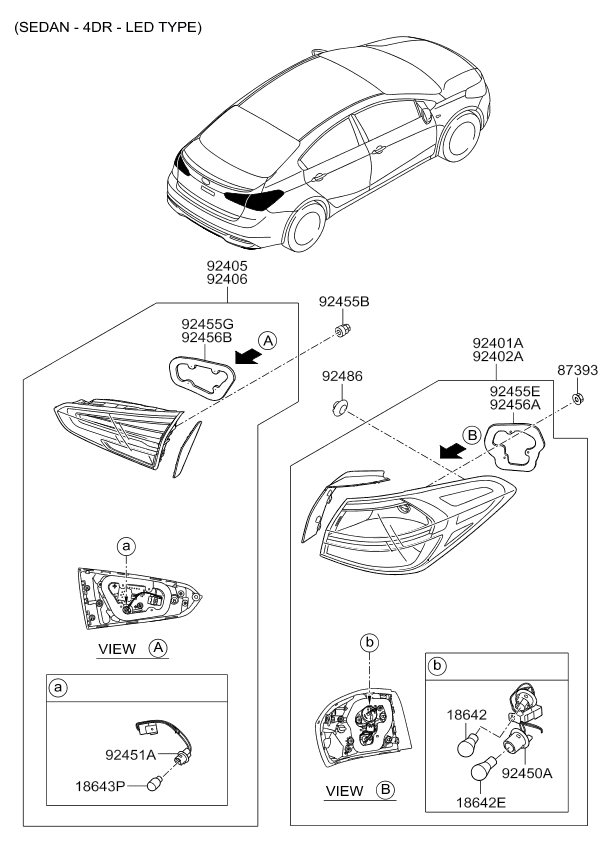 How To Change Holder And Wiring Rear Combination Kia from ci.catcar.info