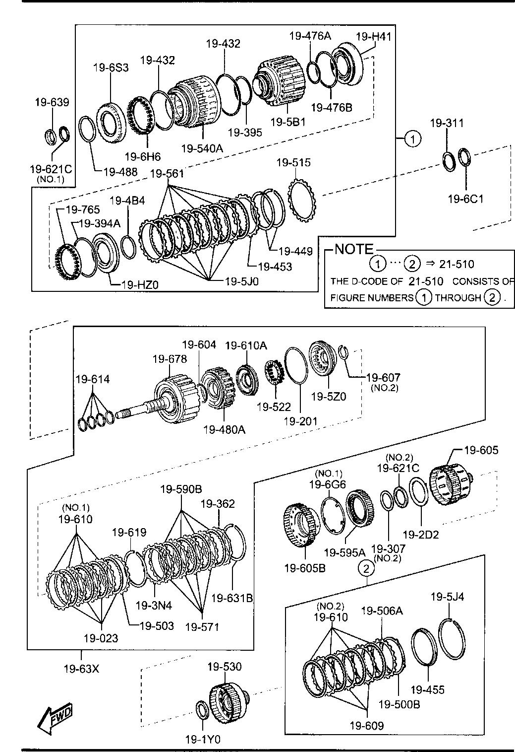 2013 Miata Gasoline Engine 4 Cylinder Transmission 1930a Slave Diagram