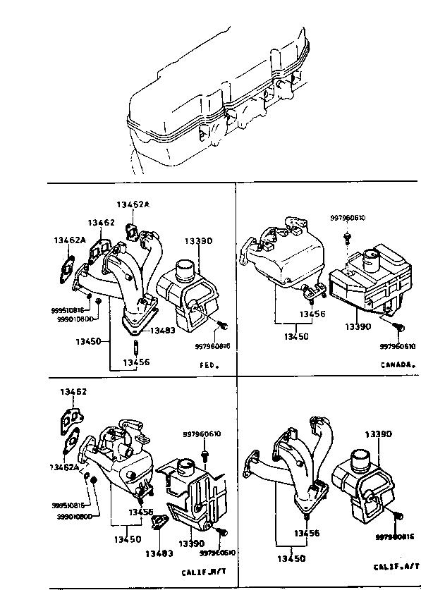 1979 Glc Wagon Engine 1310aa