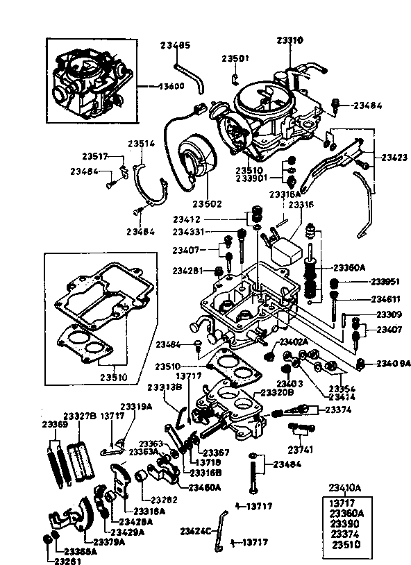 Mazda T4600 Wiring Diagram