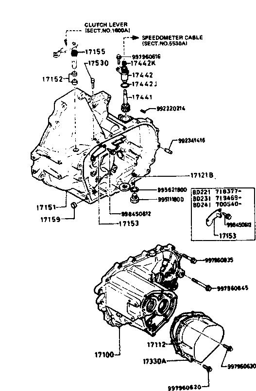 Usa 1985 Glc Hatch Engine 1700aa