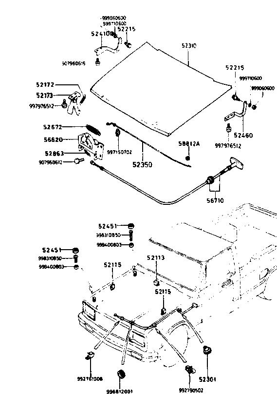 Mazda B2000 Starter Wiring