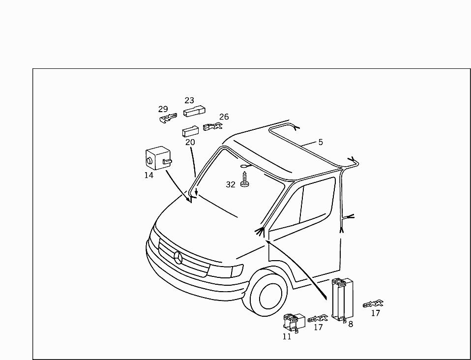 Car Engine Wiring Harness