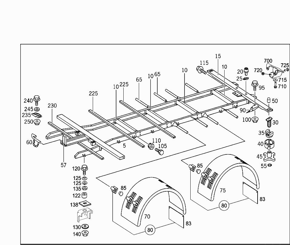 Truck Frame Diagram