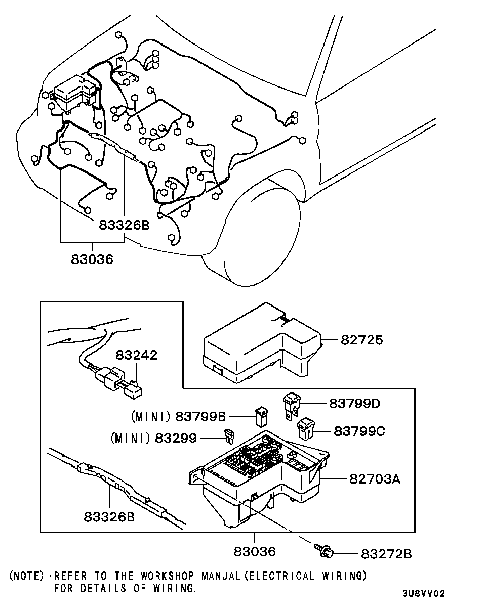 Middle East Pajero Iochina H65w Mnuel1c 54 Chassis Electrical Mitsubishi Io Wiring Diagram Subsections