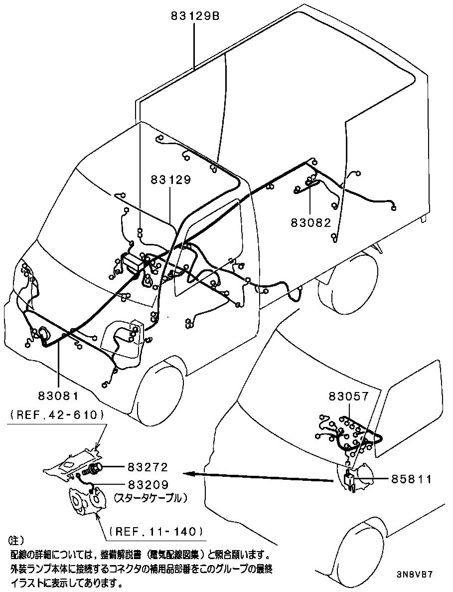 Mitsubishi Minicab U62t Wiring Diagram | Wiring Liry on