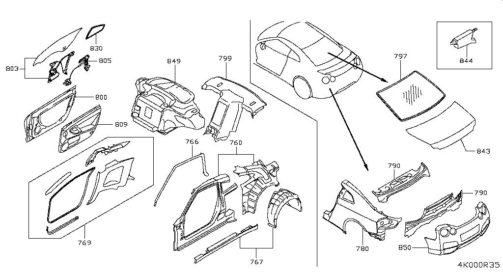 Diagram Nissan Gt R R35