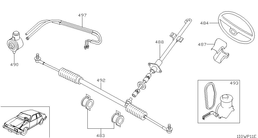 wagon steering diagram