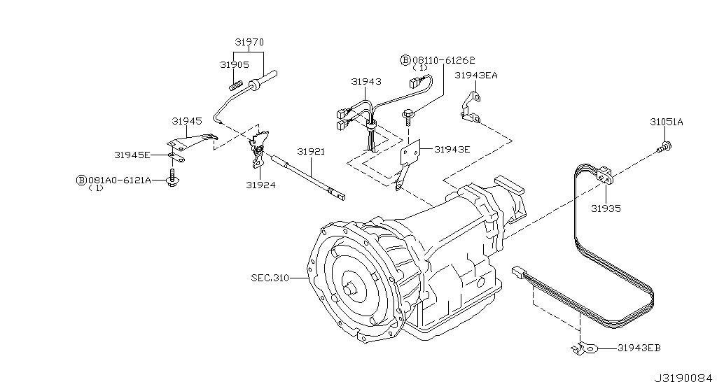 Infiniti G35 Fuel System Diagram