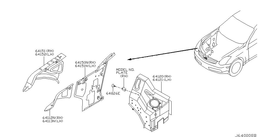 Infiniti G35 Diagram