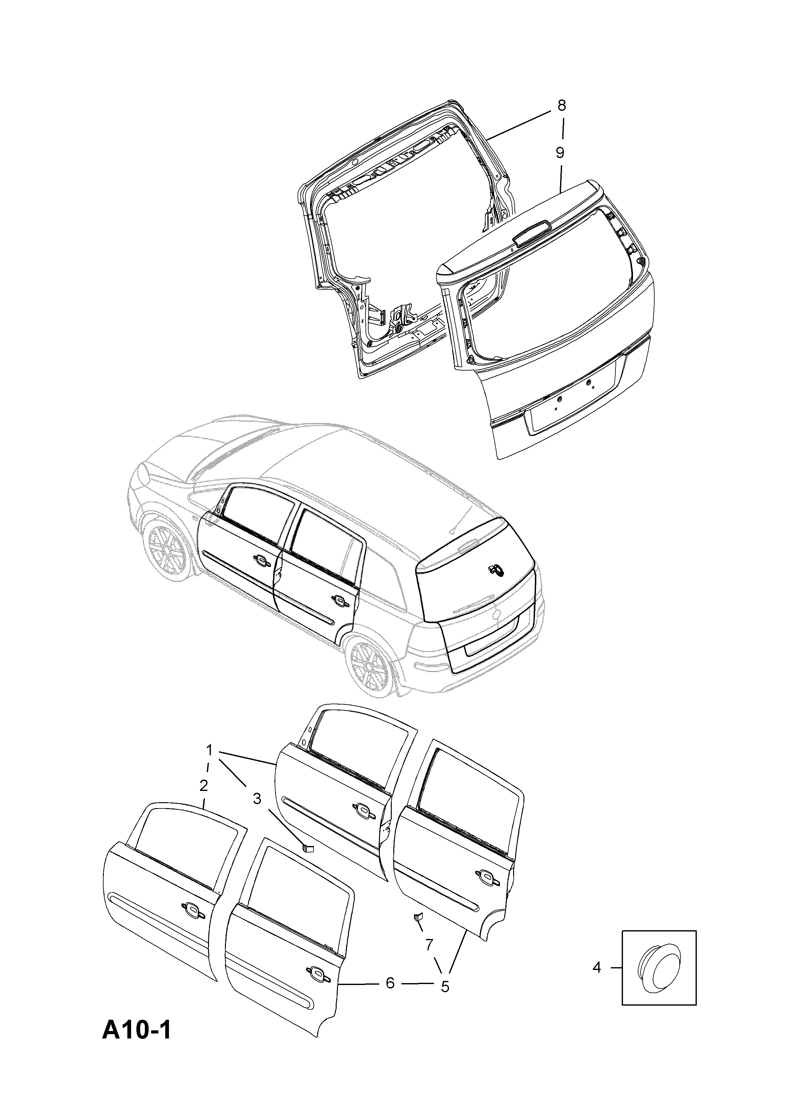 Zafira B Horn Wiring Diagram