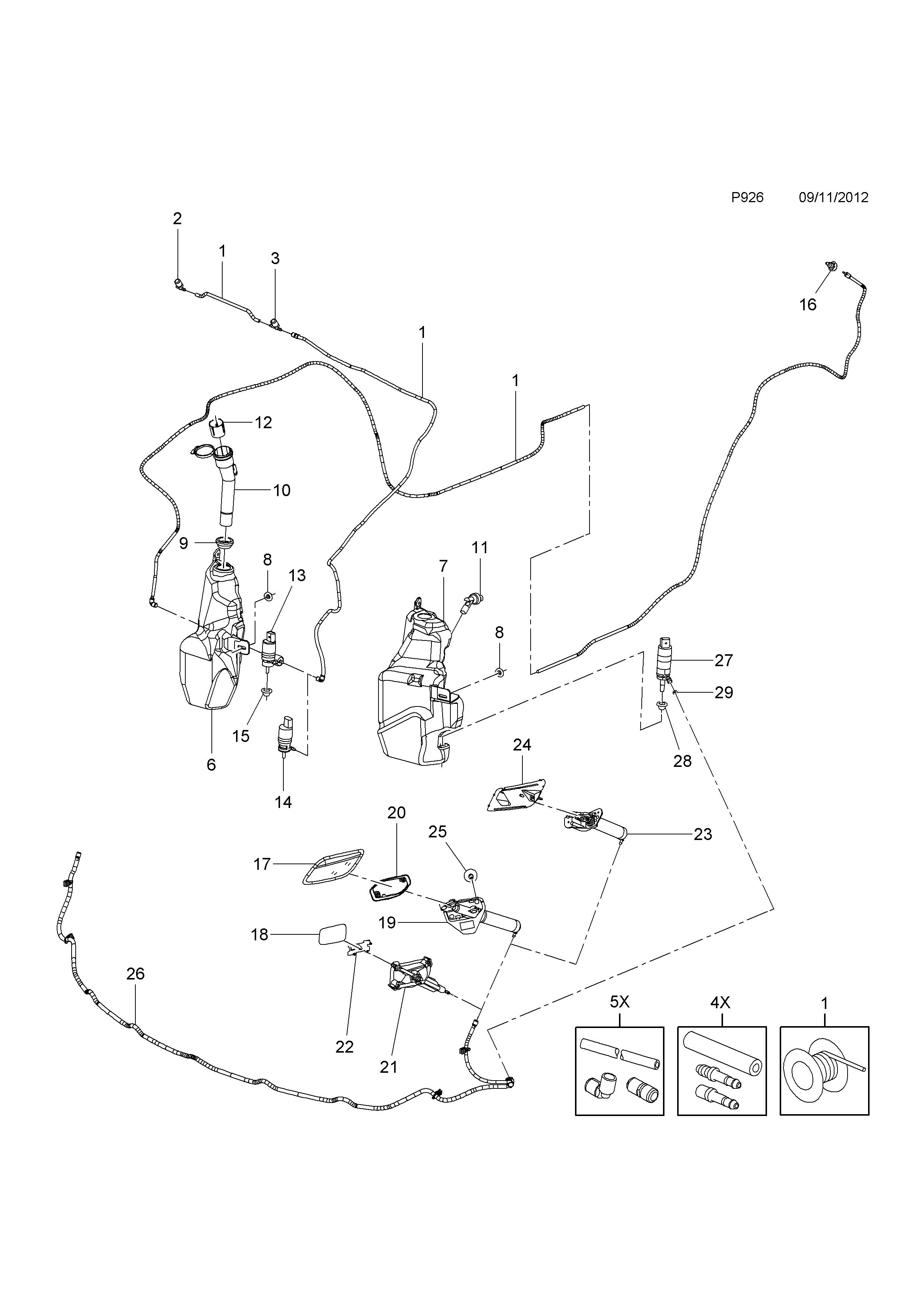 astra j w0lpf6ej7bg130688 p electrical 229 windscreen headl Wiper Wiring Diagram list of parts