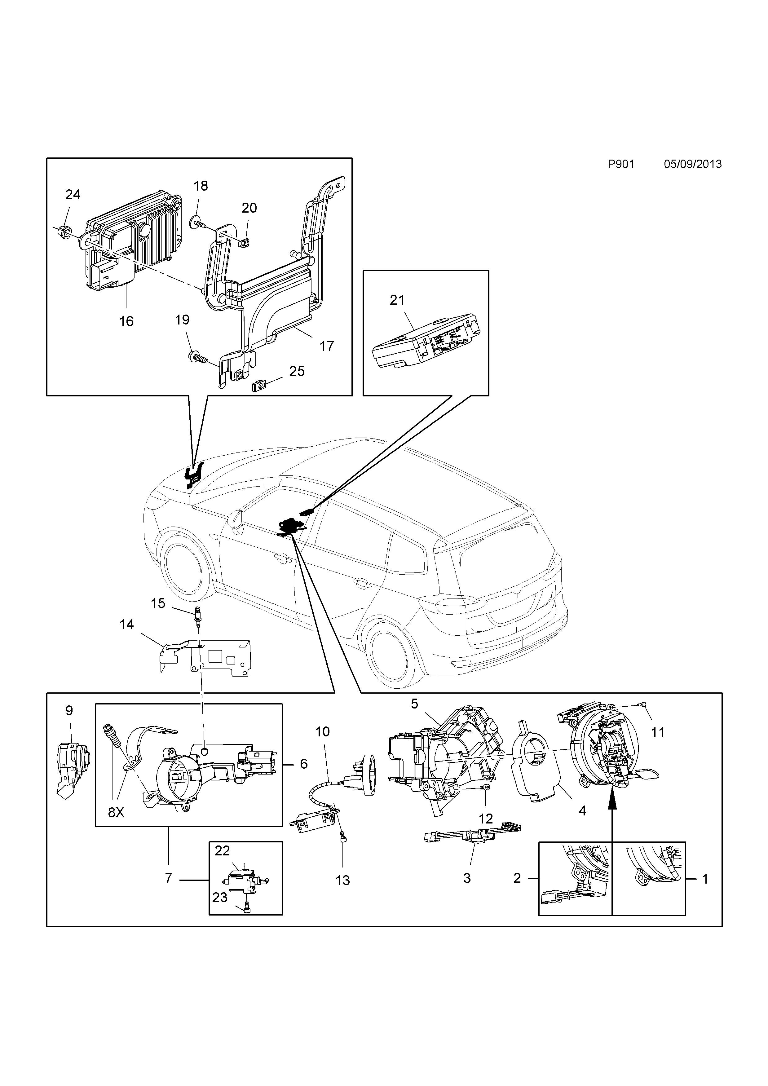 rover cruise control diagram wiring diagram data Land Rover Discovery Engine Swap ci catcar info opel_2015_05 data p12 p901b png land rover discovery 2 cruise control diagram rover cruise control diagram