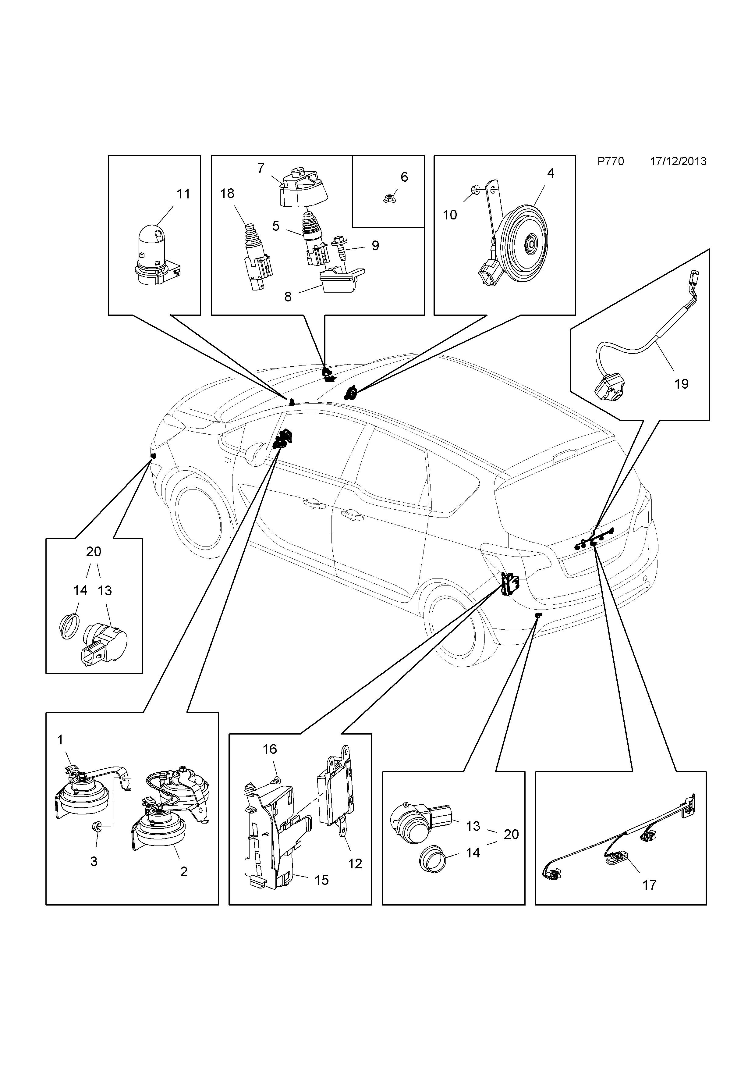 opel meriva wiring system diagram
