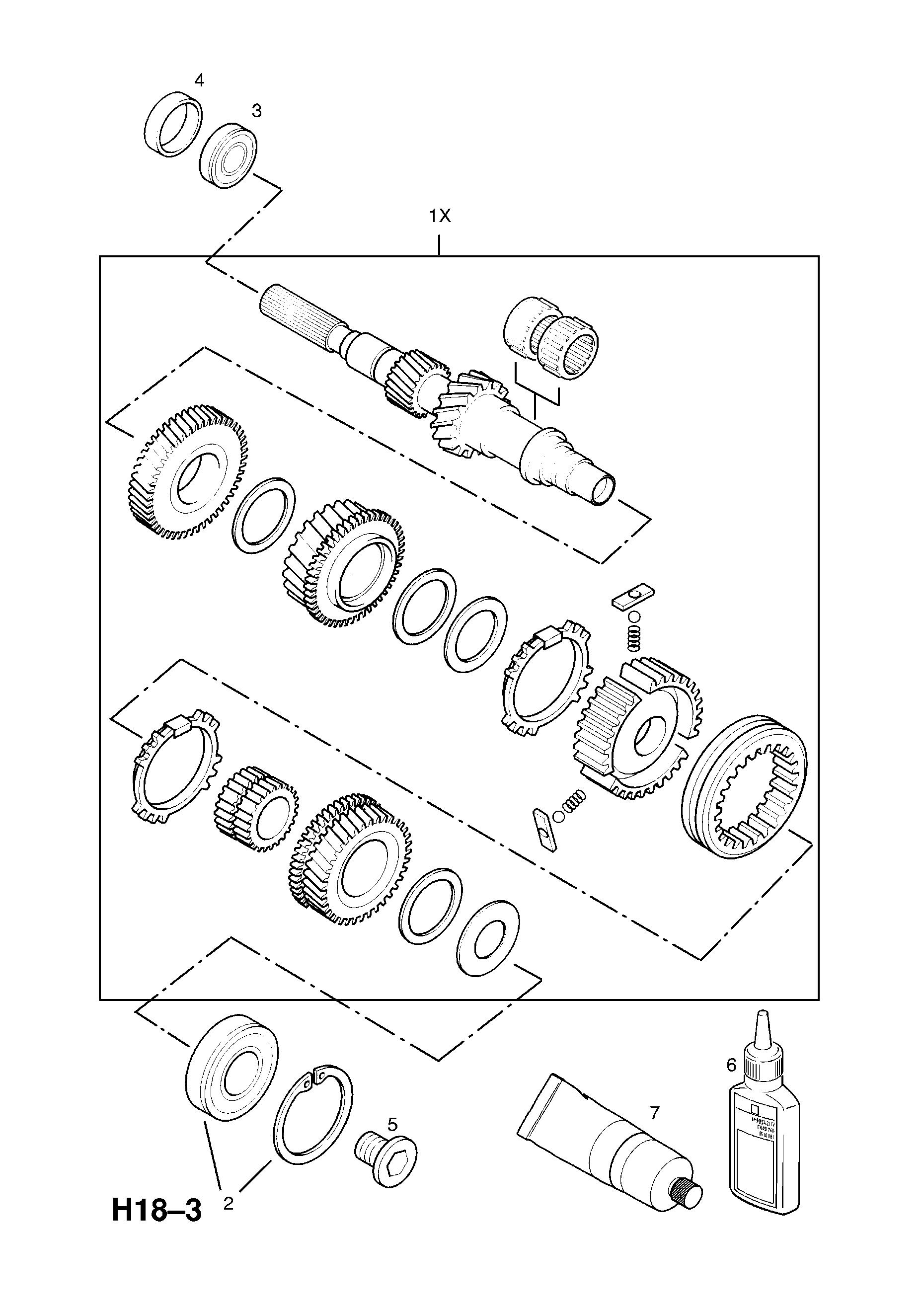astra g w0l0tgf35y8168889 h transmission 4 f23 manual transmission Astra Interior list of parts