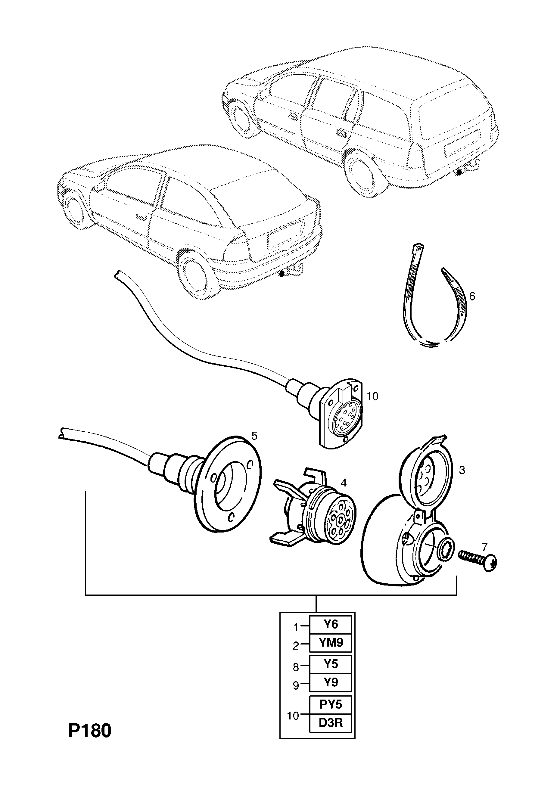 opel astra g 1998 2010 p electrical 14 body 148 estate van Simple 12V Horn Wiring Diagram list of parts