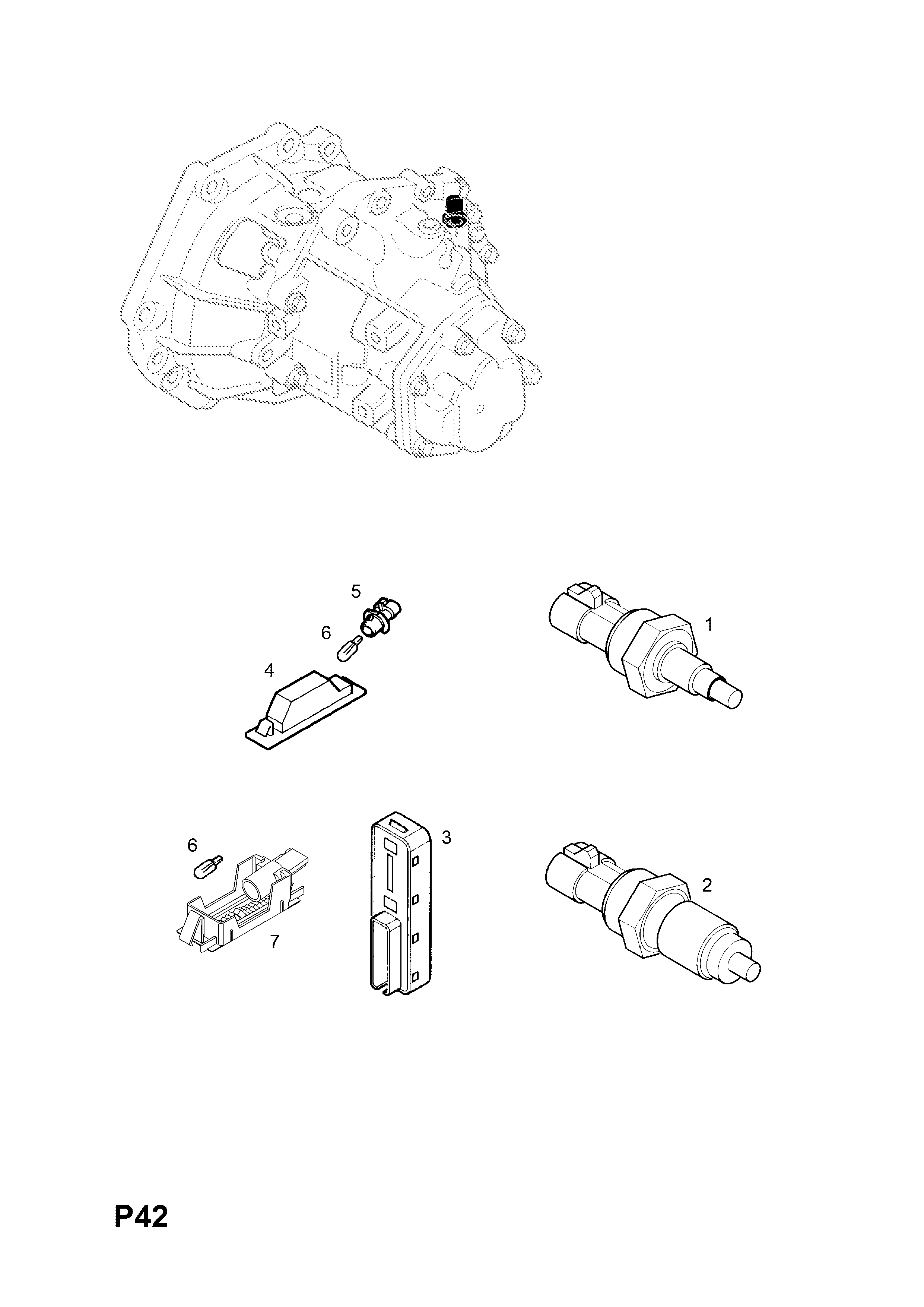 Vectra C W0l0zcf6941052682 P Electrical 254hatchsaloon F68 I Would Like To Know How Get A Diagram List Of Parts