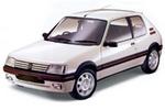 205 начиная с мод 1991