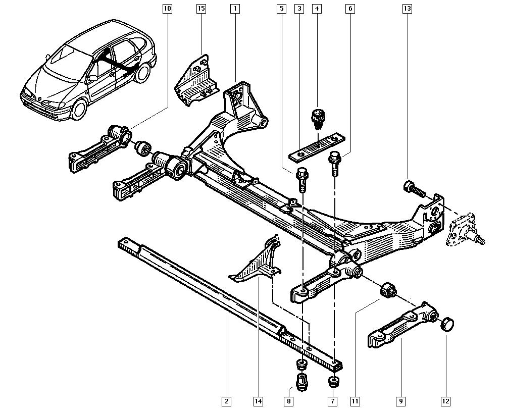sc u00e9nic i  ja01  manual  33 rear bearing elements    rear