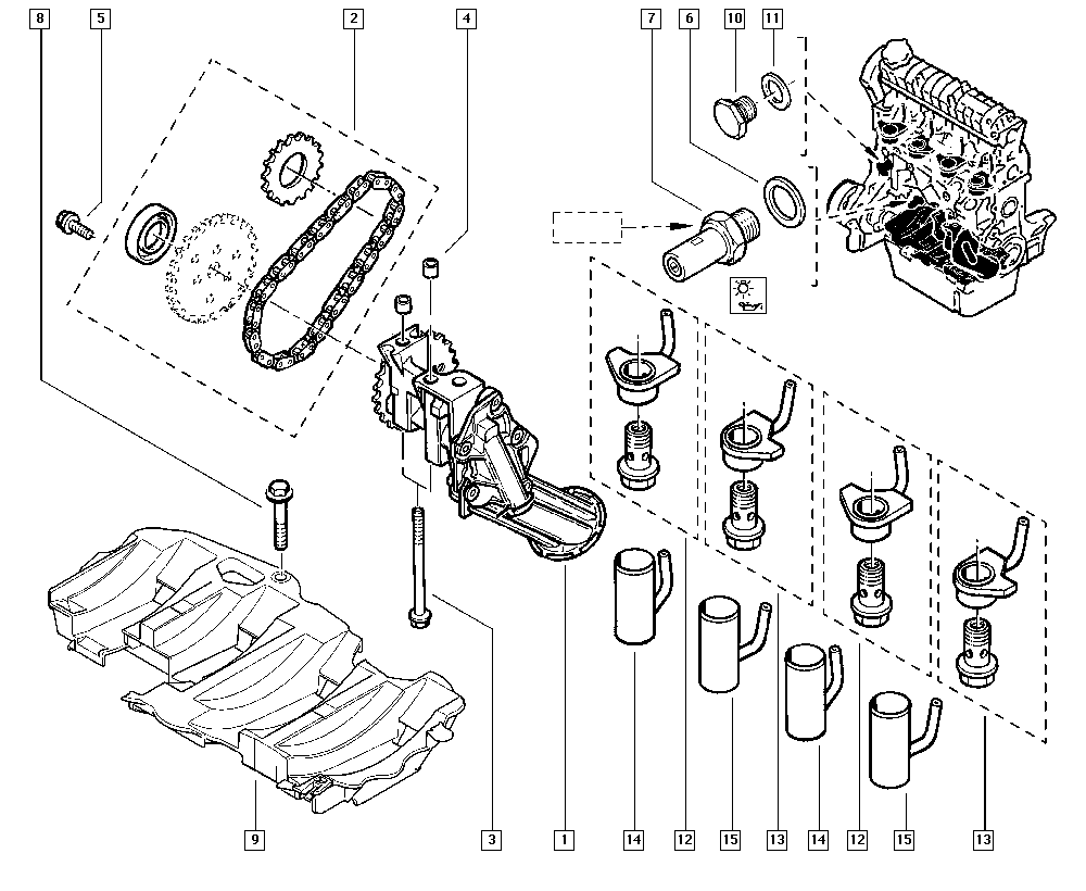 kangoo  fc02  manual  10 engine    oil pump