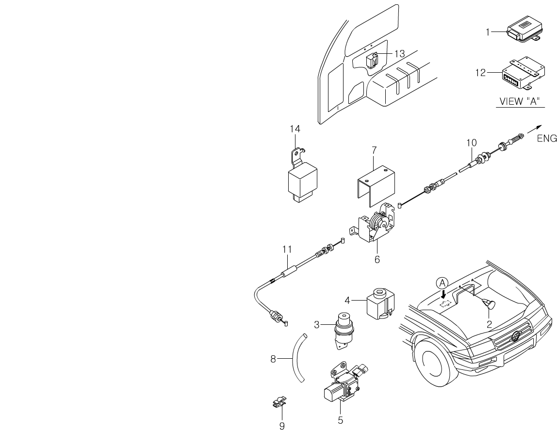 Musso Electrical Equipments 8720 Auto Cruise Daewoo Wiring Diagram