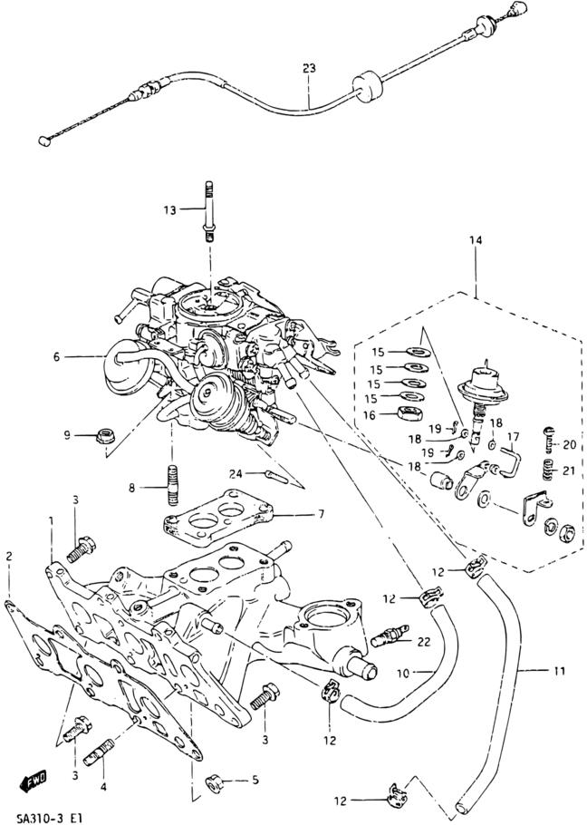Europe Forsa Sprint Swift Sa Sa310 3 E01 Engine 12